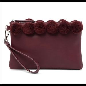 NWOT French Connection Poppy Clutch